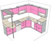 3D проект кухни - Orange Cat 121