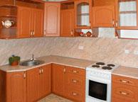 Классическая кухня Orange Cat 9