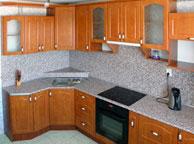 Классическая кухня Orange Cat 10