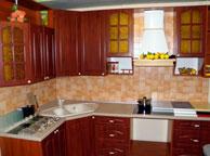 Классическая кухня Orange Cat 11