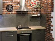 Кухня лофт - Orange Cat 370