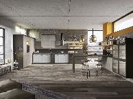 Кухня лофт - Orange Cat 347