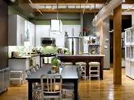 Кухня лофт - Orange Cat 350