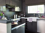 Кухня лофт - Orange Cat 351