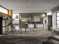 Кухня лофт - Orange Cat 354