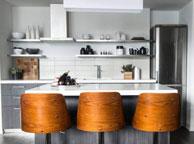 Кухня лофт - Orange Cat 356