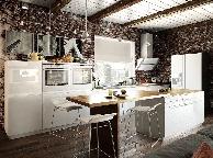 Кухня лофт - Orange Cat 363