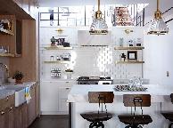 Кухня лофт - Orange Cat 364