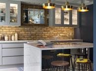 Кухня лофт - Orange Cat 366