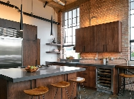 Кухня лофт - Orange Cat 367