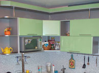 Кухня модерн - Orange Cat 37