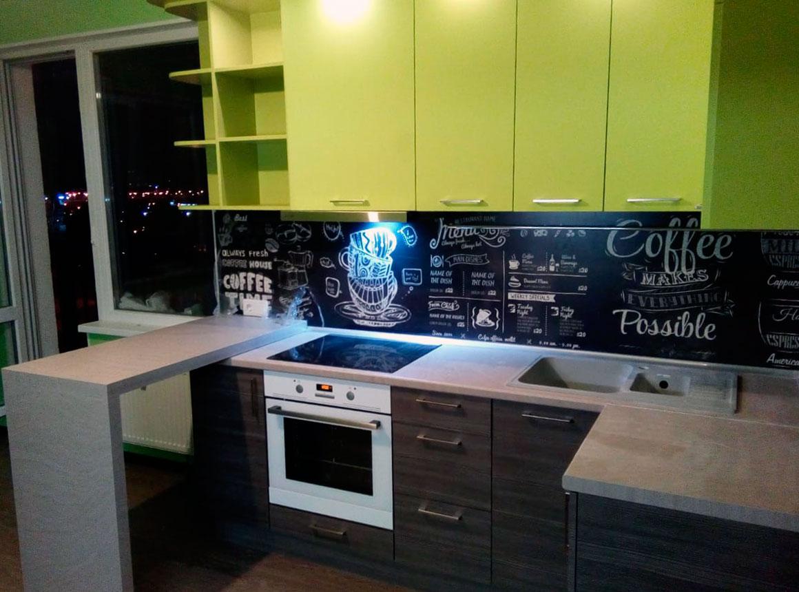 Кухня модерн - Orange Cat 424