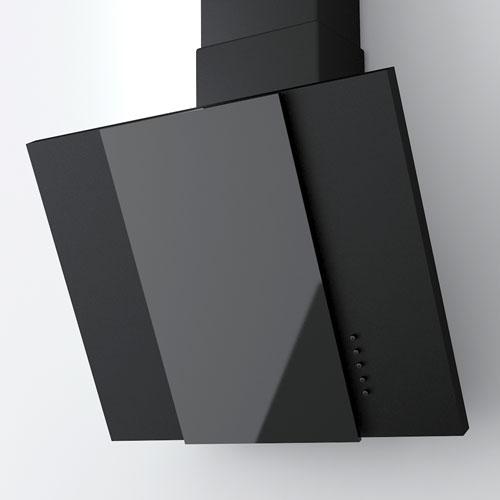 Наклонная вытяжка Polo 600 Black
